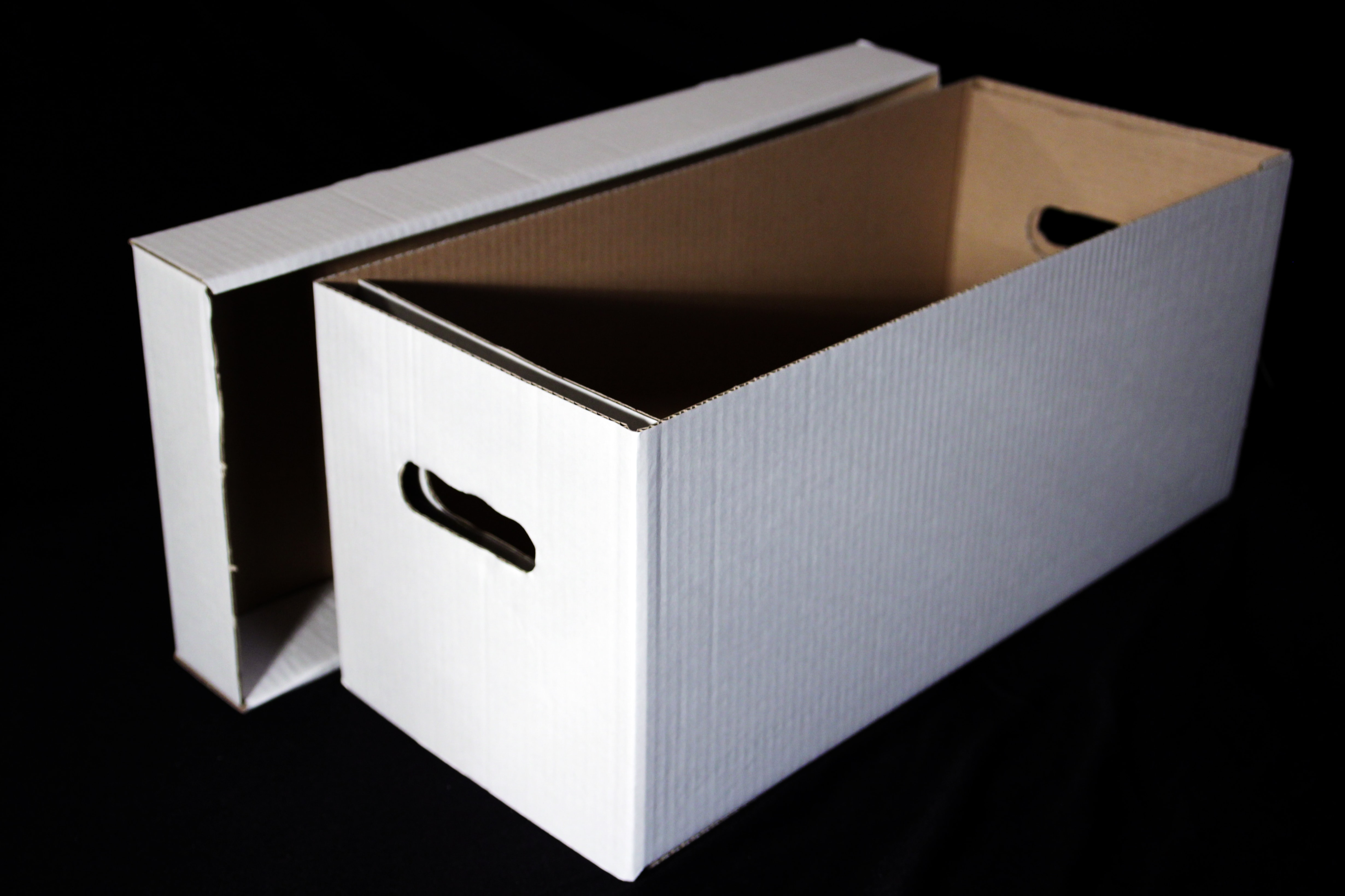 7 Singles Cardboard Storage Boxes Pack Of Five