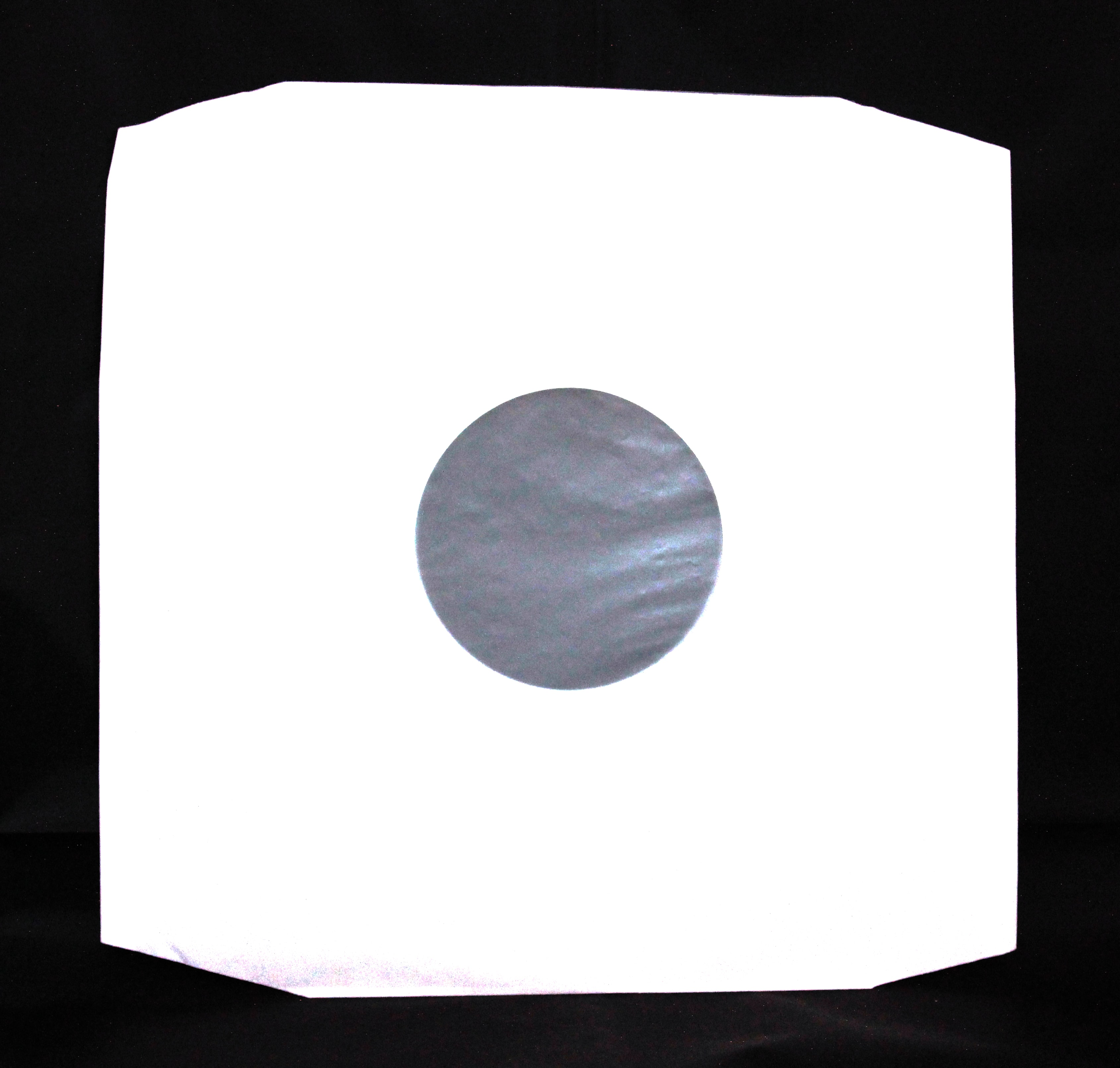 12 White Paper Polylined Sleeve Pack of 50 – White Paper